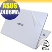 【Ezstick】ASUS E406 E406MA 二代透氣機身保護貼(含上蓋貼、鍵盤週圍貼、底部貼)DIY 包膜