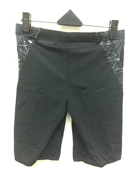 【線上體育】SPEEDO男人運動及膝泳褲Boom Splice 黑-灰