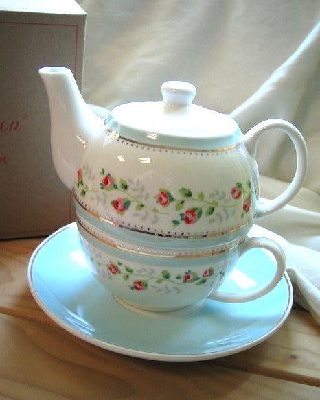 *禎的家* 英國名牌 Cath Kidston 茶壺杯 套組~玫瑰小花 限量發售!