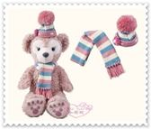♥小花花日本精品♥《Disney》Shellie May 雪莉玫 圍巾 毛帽 配件組 冬季限定 67880904