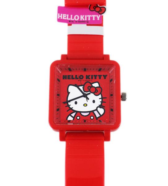 【卡漫城】日本限定 Hello Kitty 手錶 ㊣版 女錶 凱蒂貓 卡通錶 紅 果凍錶