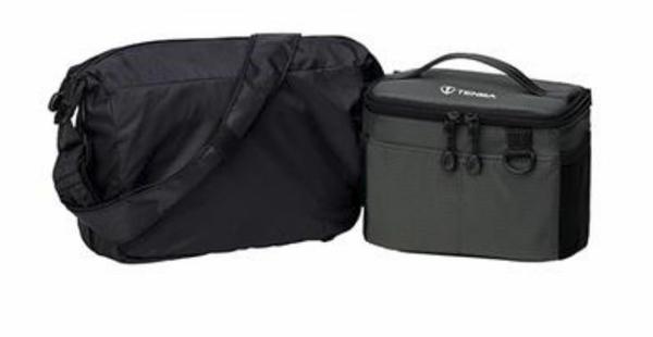 Tenba 天霸 BYOB Packlite 7 636-281 黑灰色 【包中袋配輕裝外套袋套組】