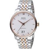 MIDO美度BARONCELLI永恆系列III經典機械腕錶     M0274262201800