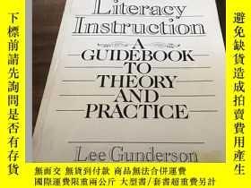 二手書博民逛書店ESL罕見Literacy Instruction : A Guidebook to Theory and Pra