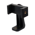 旋鈕式360度旋轉手機夾 適用 三腳架手機夾 手機支架夾 手機架夾 自拍架手機夾 自拍桿夾