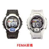 【僾瑪精品】FEMA 菲瑪錶 P170G 運動風 計時鬧鈴休閒錶-37mm/防水/學生/禮物