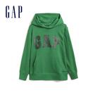 Gap男童 Logo棉質舒適連帽衫 554446-棕櫚葉色