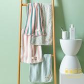 2條 毛巾純棉洗澡洗臉家用女全棉運動柔軟速干吸水不掉毛【輕奢時代】