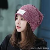 月子帽子春夏季薄款產后純棉透氣產婦帽時尚春秋冬季包頭帽孕婦帽 LannaS
