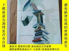 二手書博民逛書店textcerpts罕見mastering college textbook reading second edi
