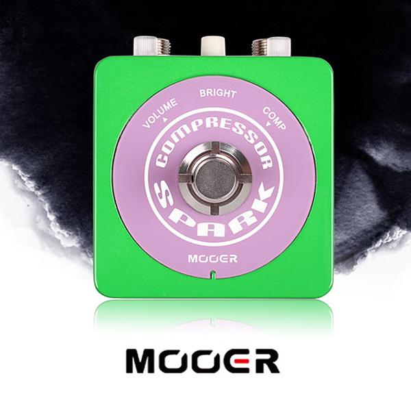 小叮噹的店- MOOER【Spark系列】Spark Compressor 壓縮 單塊 電吉他效果器(MREG-SCOM)