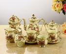 歐式茶具 陶瓷咖啡具套裝 十五件...