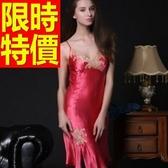 睡衣(套裝)-真絲質唯美新品典型休閒女睡裙56h24[時尚巴黎]
