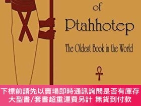 二手書博民逛書店The罕見Teachings of Ptahhotep: The Oldest Book in the World