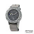 ATOP|世界時區腕錶-24時區AWA皮...
