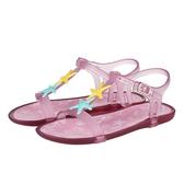IGOR 花漾珍珠果凍涼鞋-童-粉紫