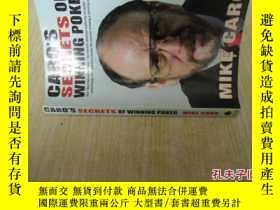 二手書博民逛書店英文原版罕見Caro s Secrets of Winning Poker by Mike CaroY7215
