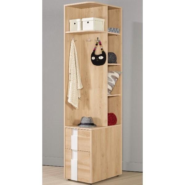 衣櫃 衣櫥 MK-581-2 漢娜1.3尺二抽右桶衣櫥 【大眾家居舘】