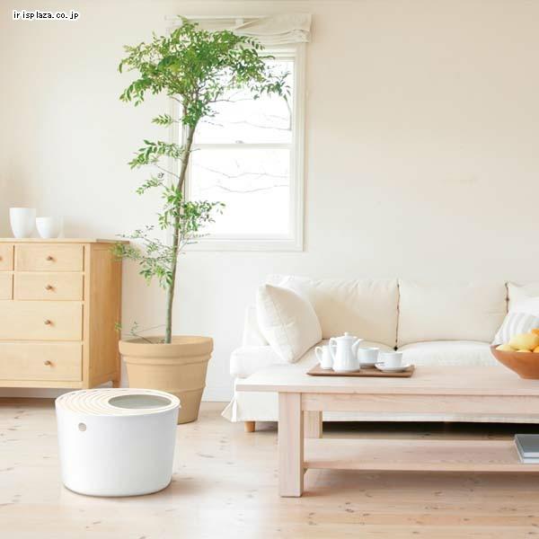 【寵物王國】日本IRIS-PUNT-530立桶式防潑砂貓便盆【有白、橙、藍、粉色可挑選!】