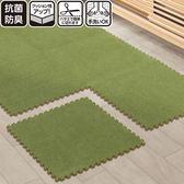 拼接地墊拼圖地墊絨面環保泡沫地墊加厚絨面客廳臥室地板墊FA
