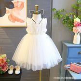 兒童洋裝女童寶寶3超仙白色裙子 新款4兒童正韓5公主紗裙洋裝7歲 童趣潮品