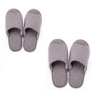 HOLA 柔軟針織拖鞋-駝 Mx1+Lx1