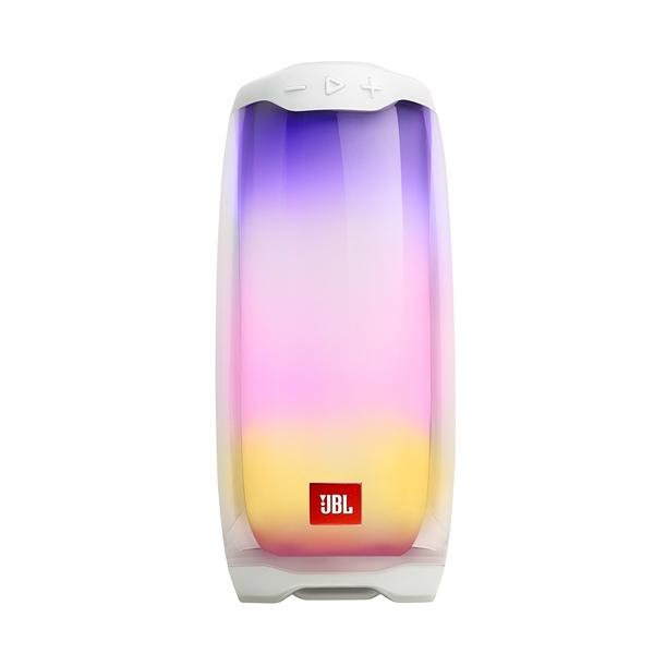 英大公司貨/實體店面『JBL PULSE 4 白色 』360度炫彩藍牙喇叭/藍芽/IPX7防潑水/彩色LED燈