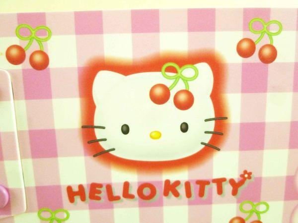 【震撼精品百貨】Hello Kitty 凱蒂貓~收納夾~櫻桃【共1款】