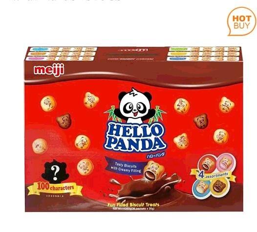[限時限量促銷] C89590 明治貓熊夾心餅乾組 35公克X36入/組