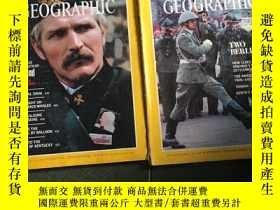 二手書博民逛書店National罕見geographic 1982 January. April.Y429456
