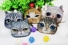 【AN002】 時尚潮流 動物零錢包 貓咪 零錢包 小貓錢包