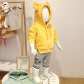 寶寶新款4春秋裝韓版5連帽大學T0-2歲嬰幼兒3外套9男女童6上衣12潮