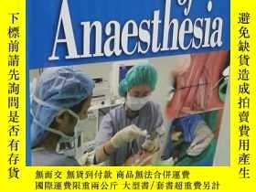 二手書博民逛書店Manual罕見of Anaesthesia 【麻醉手冊】外文原