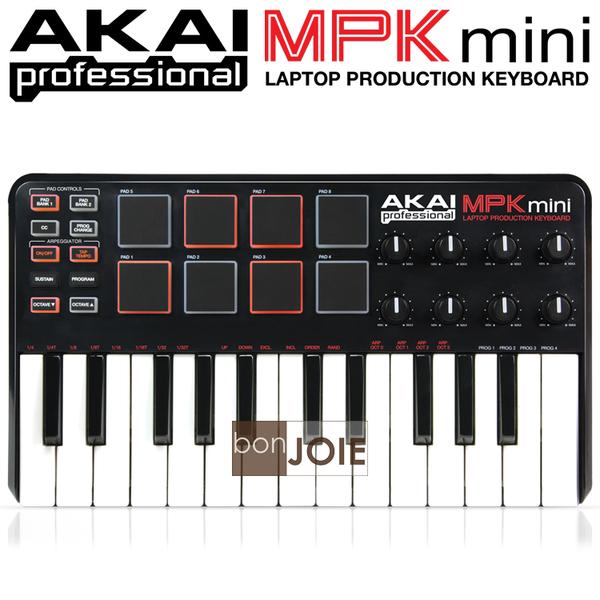 ::bonJOIE:: 美國進口 Akai MPK mini MIDI Keyboard 音樂鍵盤 MPKmini 25-Key 控制鍵盤 鍵盤 樂器 電子樂器