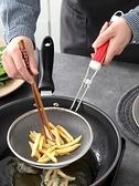 廚房不銹鋼漏勺大號過濾網勺網漏油撈密網笊籬撈面勺