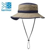 日系[ Karrimor ] ventilation classic ST 透氣圓盤帽 深米黃/海軍藍