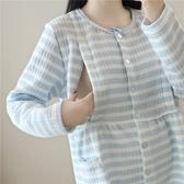 孕婦服春秋純棉產后哺乳衣孕婦睡衣秋冬保暖加厚喂奶衣家居服套裝