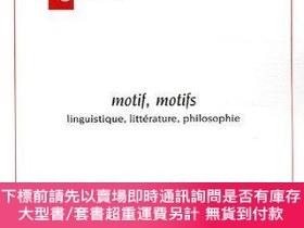 二手書博民逛書店Motif,罕見MotifsY255174 Yves Abrioux Presses Universitair