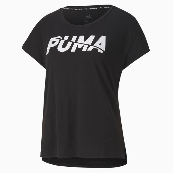 PUMA MODERN SPORTS女款黑色短袖T恤-NO.58528301