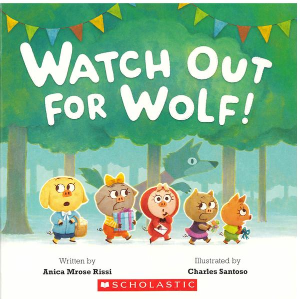 【麥克書店】WATCH OUT FOR WOLF/ 英文繪本《主題:幽默.友誼》