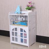 床頭柜簡約現代迷你柜收納小柜子儲物柜組裝床邊柜zzy6127『易購3c館』