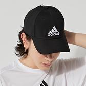 Adidas BBALLCAP LT EMB 黑 棒球 老帽 FK0898