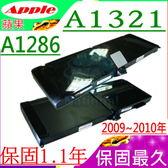 APPLE A1321 電池(保固最久)-蘋果 MC118,MC118ZP/A, A1286,Pro 15吋 MB986LL/A,MB986TA/A,MB986X/A,MB986ZP/A