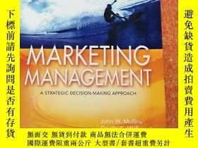 二手書博民逛書店Marketing罕見Management: A Strategic Decision-Making Approa