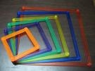 【台灣製USL遊思樂】幾何扣條 / 透明大扣條(大,透明6色,24pcs) / 袋
