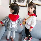 女童長袖內搭衣          兒童長袖t恤洋氣內搭可愛女寶寶上衣2韓版小孩秋衣3歲潮 宜室家居
