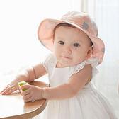 寶貝兔子氣球棉料寬簷遮陽帽 兒童帽 休閒帽 寬沿帽