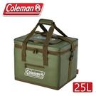 【Coleman 美國 25L終極保冷袋《綠橄欖》】CM-37166/保冰袋/野餐/野外露營