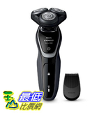 [9美國直購] Philips 刮鬍刀 Norelco Electric Shaver 5110 Wet & Dry, S5205/81, with SmartClick Precision Trimmer