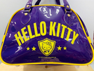 【震撼精品百貨】Hello Kitty_凱蒂貓~Sanrio HELLO KITTY防水手提包/透明防水包-藍黃#05265